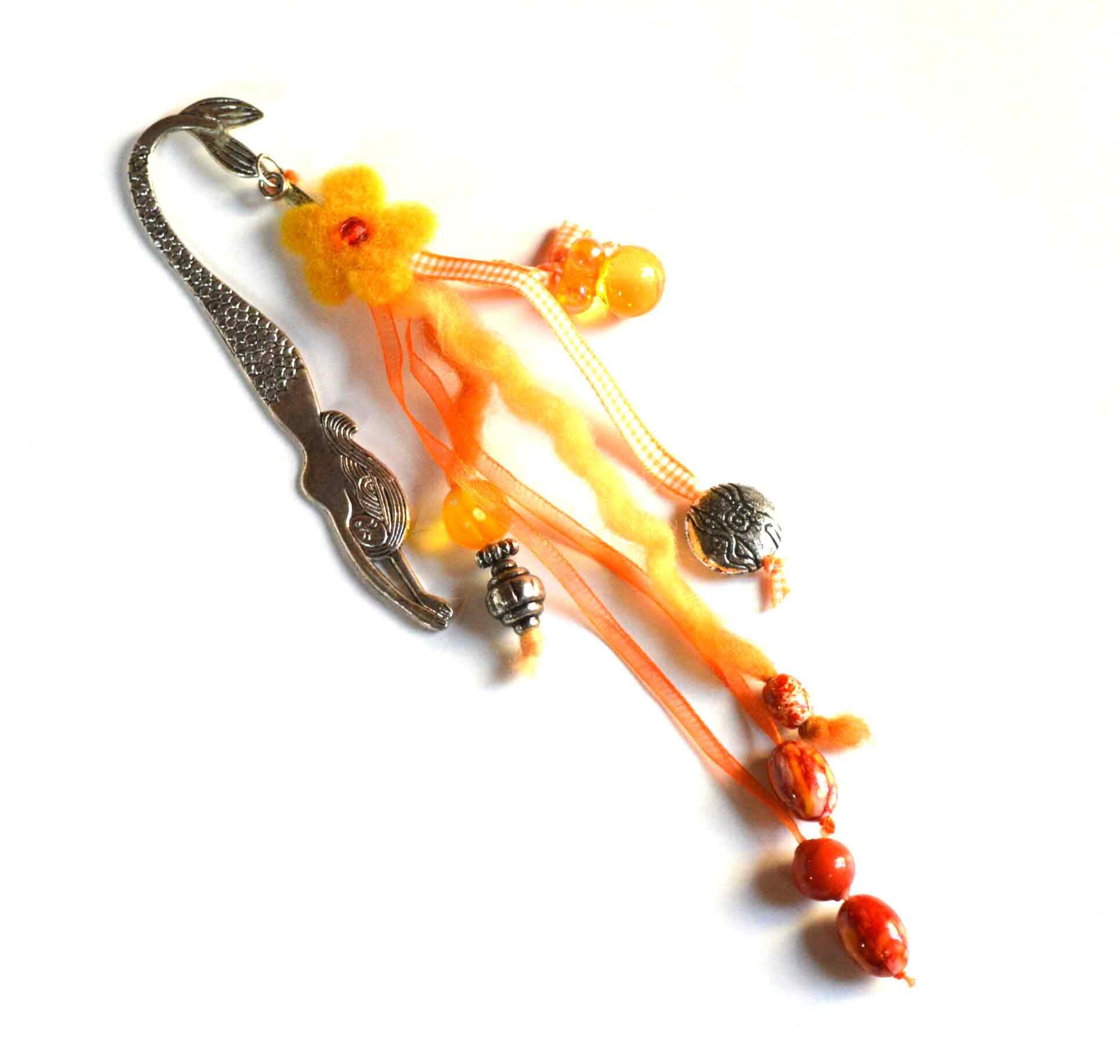 Boekenlegger (oranje)